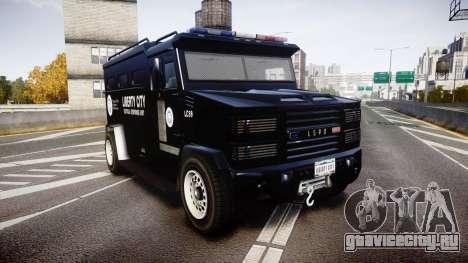 GTA V Brute Police Riot [ELS] skin 2 для GTA 4