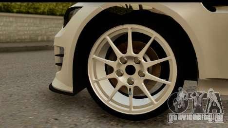 BMW M3 E90 Hamann для GTA San Andreas вид сзади