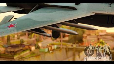 MIG-29 Fulcrum для GTA San Andreas вид справа
