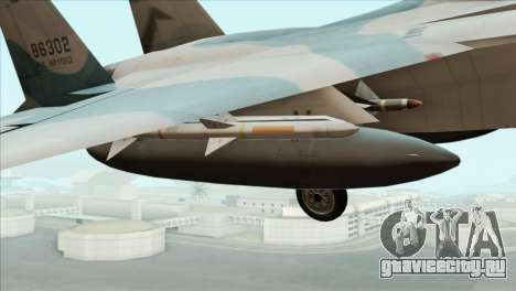 McDonnell Douglas F-15D Philippine Air Force для GTA San Andreas вид справа