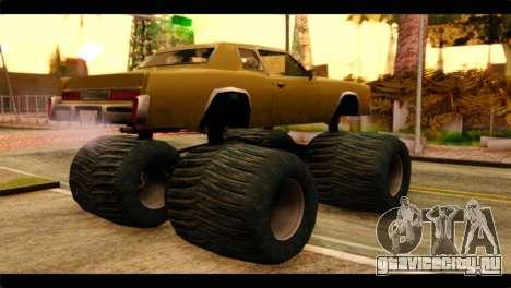 Monster Esperanto для GTA San Andreas вид слева