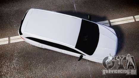 Ford Fusion Estate 2014 Unmarked Police [ELS] для GTA 4 вид справа