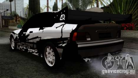 BMW M3 E36 Drift Editon для GTA San Andreas вид слева