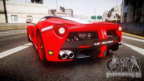 Ferrari LaFerrari 2013 HQ [EPM] PJ4 для GTA 4 вид сзади слева