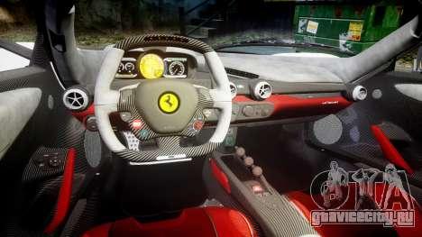 Ferrari LaFerrari 2013 HQ [EPM] PJ2 для GTA 4 вид изнутри