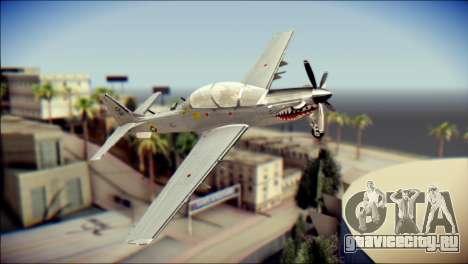 EMB 314 Super Tucano Colombian Air Force для GTA San Andreas