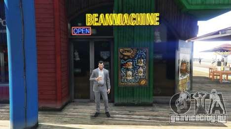 Кофейня для GTA 5 третий скриншот