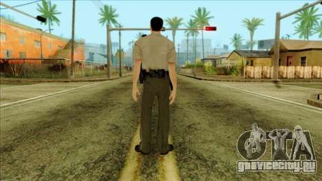 Depurty Alex Shepherd Skin для GTA San Andreas второй скриншот