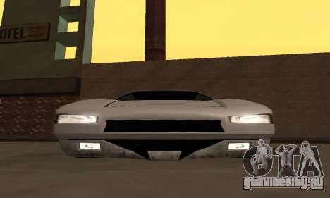 Infernus BanDit для GTA San Andreas вид справа