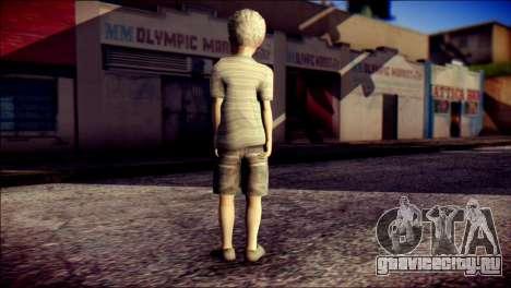 Dante Child Skin для GTA San Andreas второй скриншот