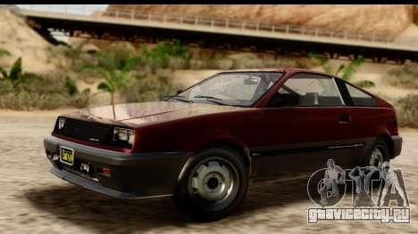 GTA 5 Dinka Blista Compact для GTA San Andreas