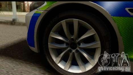 BMW 530d Kent Police RPU для GTA San Andreas вид сзади