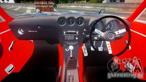 Nissan Fairlady Devil Z для GTA 4 вид сзади