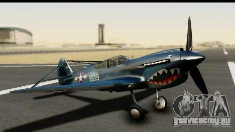 P-40E Kittyhawk US Navy для GTA San Andreas