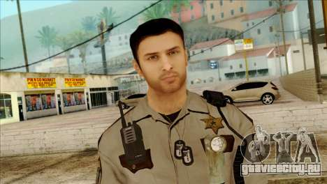 Depurty Alex Shepherd Skin для GTA San Andreas третий скриншот