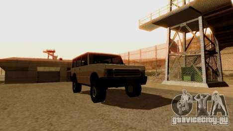 DLC 3.0 Военное обновление для GTA San Andreas десятый скриншот