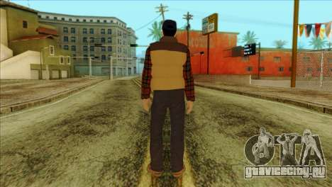 Big Rig Alex Shepherd Skin для GTA San Andreas второй скриншот