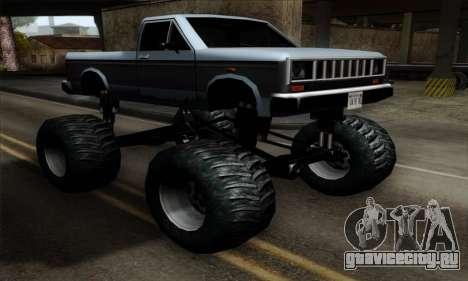 Monster Bobcat для GTA San Andreas