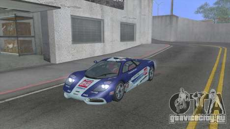 1992 McLaren F1 Clinic Model Custom Tunable v1.0 для GTA San Andreas вид сбоку