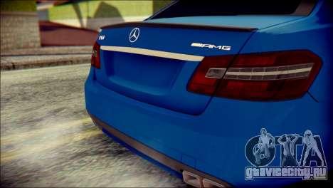 Mercedes-Benz AMG для GTA San Andreas вид сзади