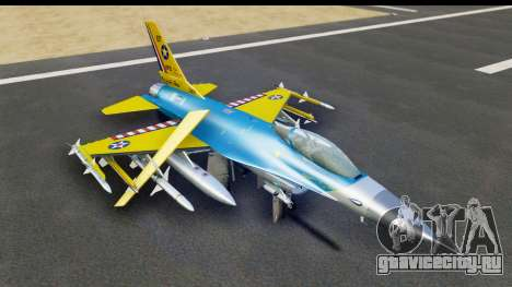 F-16C USAF 111th FS 90th Anniversary для GTA San Andreas