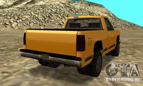 PS2 Yosemite для GTA San Andreas вид сзади