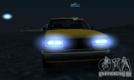 PS2 Yosemite для GTA San Andreas вид сбоку