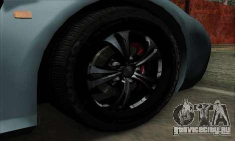 Mitsuoka Orochi Nude Top Roadster для GTA San Andreas вид сзади слева