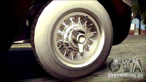 GTA 5 Dewbauchee JB 700 для GTA San Andreas вид сзади слева