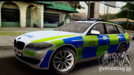 BMW 530d Kent Police RPU для GTA San Andreas