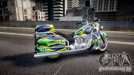 GTA V Western Motorcycle Company Sovereign BRA для GTA 4 вид слева