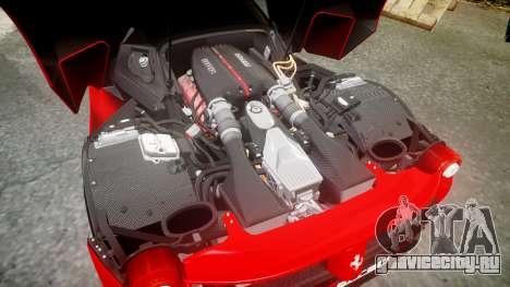 Ferrari LaFerrari 2013 HQ [EPM] PJ4 для GTA 4 вид сверху