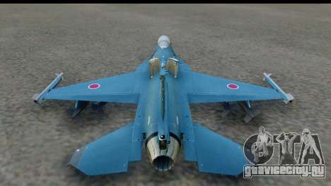 F-2A Viper Blue для GTA San Andreas вид слева