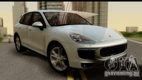 Porsche Cayenne S 2015 для GTA San Andreas