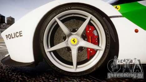 Ferrari LaFerrari 2013 HQ [EPM] PJ2 для GTA 4 вид сзади