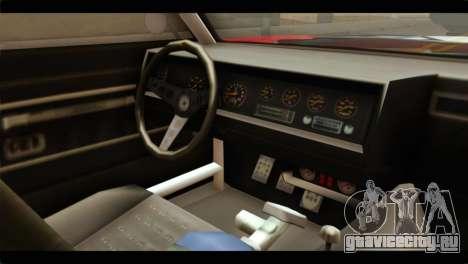 GTA 5 Declasse Sabre GT Turbo для GTA San Andreas вид справа