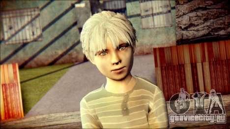 Dante Child Skin для GTA San Andreas третий скриншот