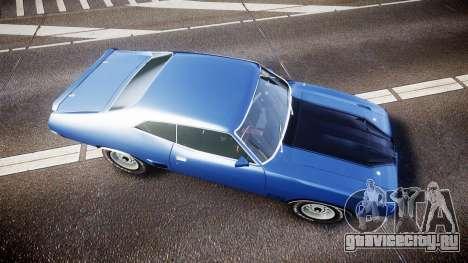 Ford Falcon XB GT351 Coupe 1973 для GTA 4 вид справа