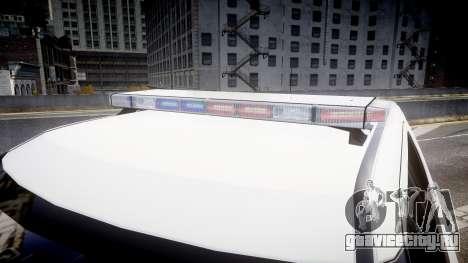 Ford Explorer 2011 Elizabeth Police [ELS] v2 для GTA 4 вид сзади