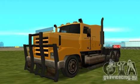 PS2 RoadTrain для GTA San Andreas