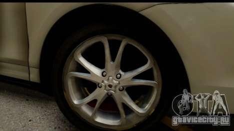 Porsche Cayenne S 2015 для GTA San Andreas вид сзади