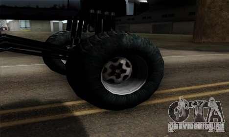 Monster Bobcat для GTA San Andreas вид сзади слева
