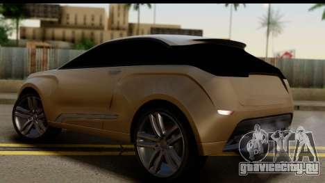 Lada XRay Concept v0.8 для GTA San Andreas вид слева