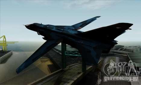SU-24MP Fencer Blue Sea Camo для GTA San Andreas вид слева