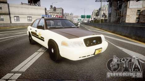 Ford Crown Victoria Liberty Sheriff [ELS] для GTA 4