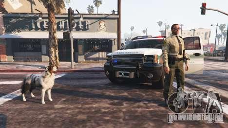 Police Mod 1.0b для GTA 5 третий скриншот