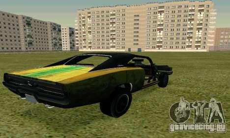 Dodge Charger RT HL2 EP2 для GTA San Andreas вид слева