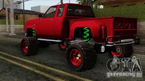 Bobcat Fx4 для GTA San Andreas вид слева