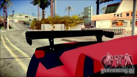 Chevrolet Camaro ZL1 Indonesian Police v2 для GTA San Andreas вид сзади