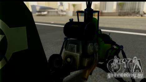 Gyrocopter для GTA San Andreas вид сзади слева